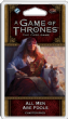 A Game of Thrones : The Card Game (Second Edition) – All Men Are Fools Chapter Pack